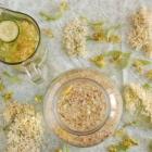 Flavoured Water: Elderflower Lemon and Linden Blossom Cucumber