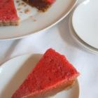 Chocolate Sweet Potato Pie with Strawberry Gelée
